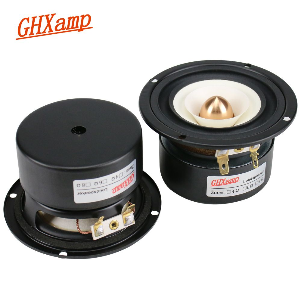 GHXAMP 3 zoll 90mm Vollständige Palette Kugel Reverse Rand 4OHM 15 watt Lautsprecher Hause Decke Auto 80 hz- 20 khz