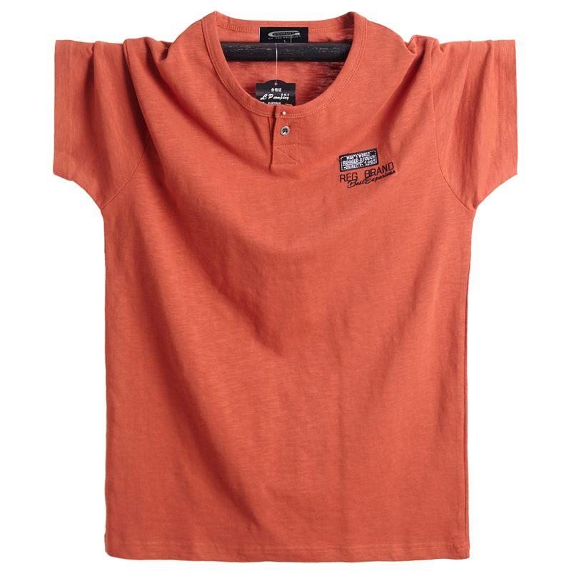 2019 grande taille 5XL 6XL hommes grand T-shirt manches courtes surdimensionné T-shirt coton homme grand T-shirt d'été Fit T Shirt hauts d'été