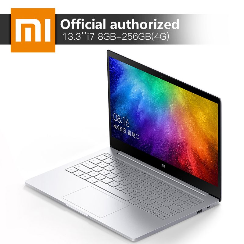 Original Xiao mi Notebook Air Intel Core i7-7500U 13,3 ''8 gb DDR4 256 gb SSD mi Computer 940 mt X 1 gb GDDR5 Windows10 4g Laptop
