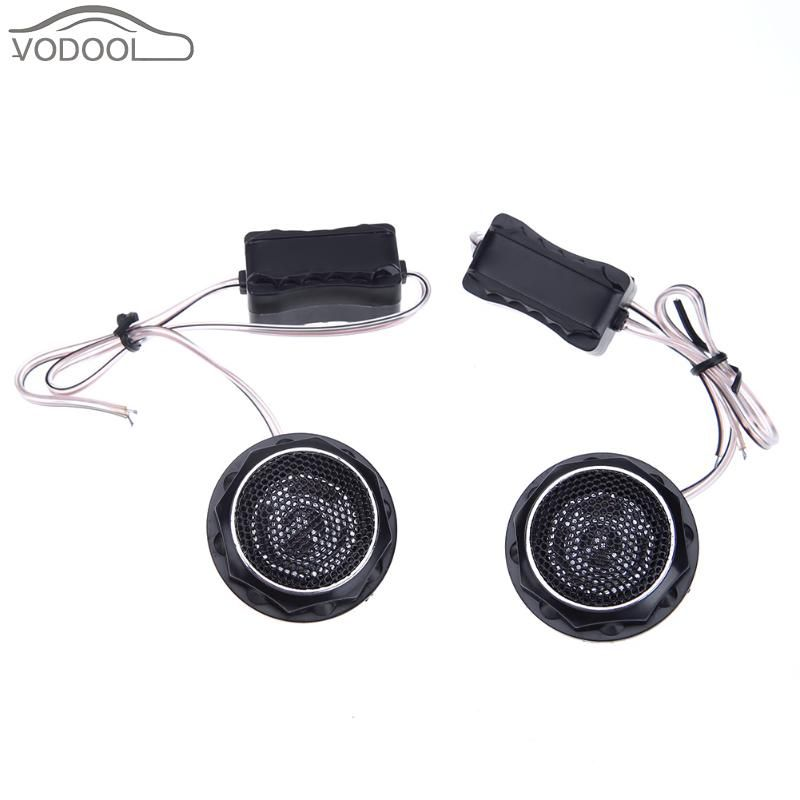 2Pcs 140W Car Interior Mini Speaker Automobiles Loud Speakers Car Refitting Loudspeaker Tweeters Kit Auto Accessories