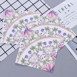 Pink Flesh Totem Design Paper Napkins Cafe & Party Tissue Napkins Decoupage Decoration Paper 33cm*33cm 20pcs/pack/lot