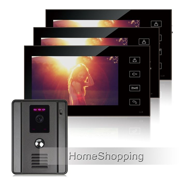 FREE SHIPPING Home Intercom Wired 7