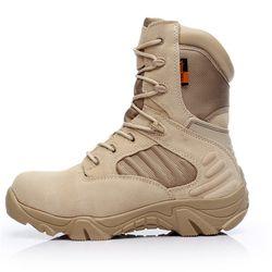 2018 invierno al aire libre botas militares de las Fuerzas Especiales botas de combate botas tácticas desierto Delta alta para ayudar a usar militar