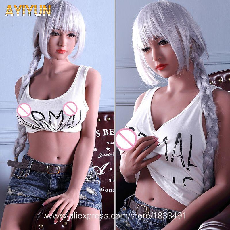 AYIYUN Big Breasts Real Sex Dolls Lifelike Love Dolls for Men Anal Vagina Pussy Oral Realistic Doll Male Masturbator