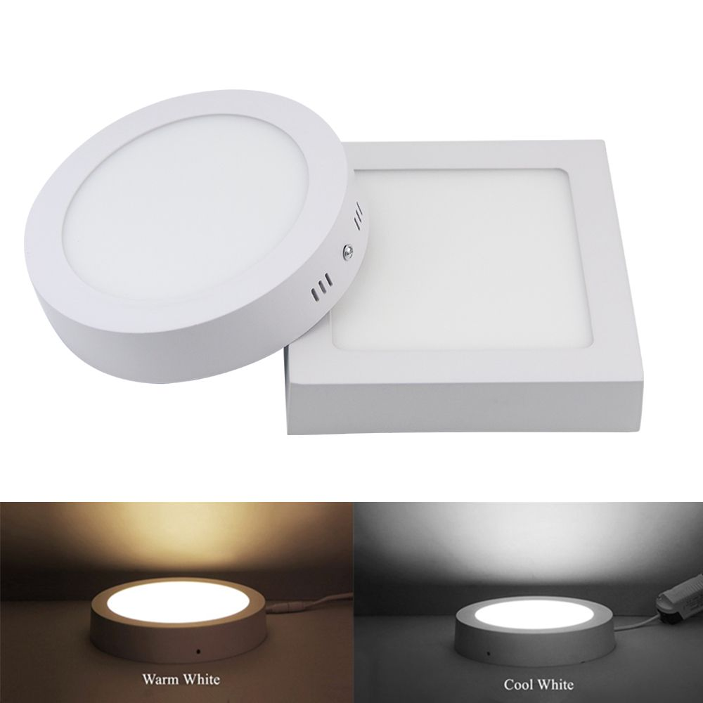 9W 15W 25W Round/Square Surface LED Ceiling Light Panel Light Down Light 85-265V LED indoor Light