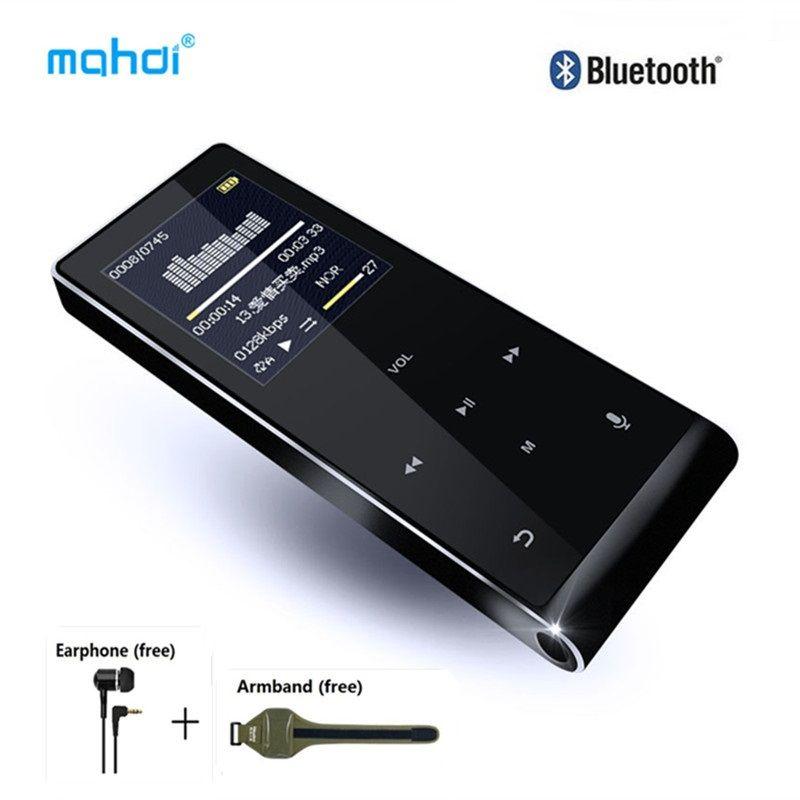 Bluetooth MP4 Player 8 gb mehrsprachige Diktiergerät MP4 Touch Key Video Digital Mini Anti-scratch Musik Player