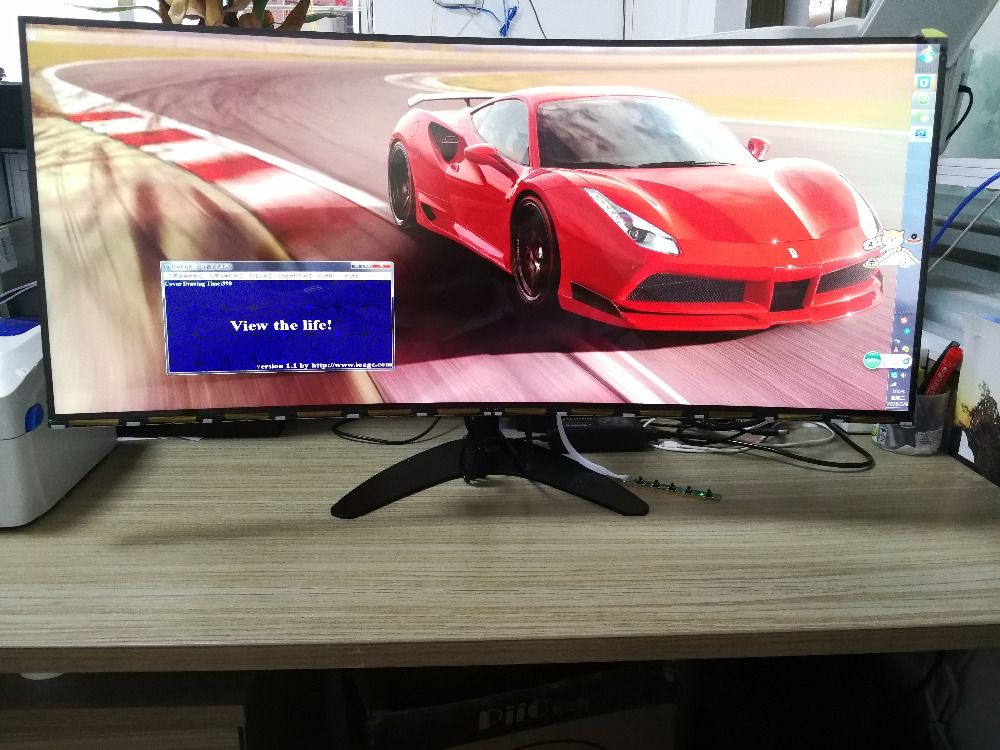 34'' 4K 21:9 UltraWide Curved New Original IPS Display LTM340YP03 With DP HDMI Controller Board For Diy MX34VQ MK3449E Display
