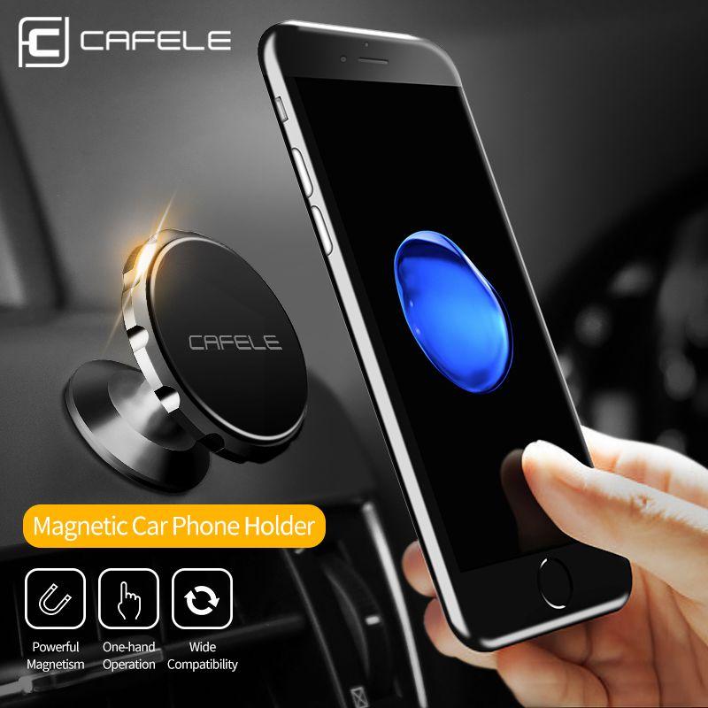 CAFELE 3 Stil Magnetischen Auto Telefon Halter Stehen Für iphone X 8 7 Samsung S9 Air Vent GPS Universal Mobile telefon Halter Freies schiff