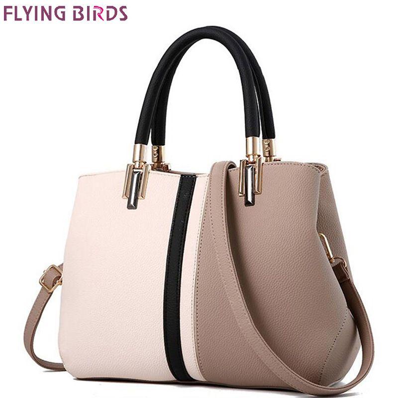 FLYING BIRDS brands Women Handbag Fashion leather handbags Shoulder Bag Small Casual Cross Body Bag Retro Totes new arrive