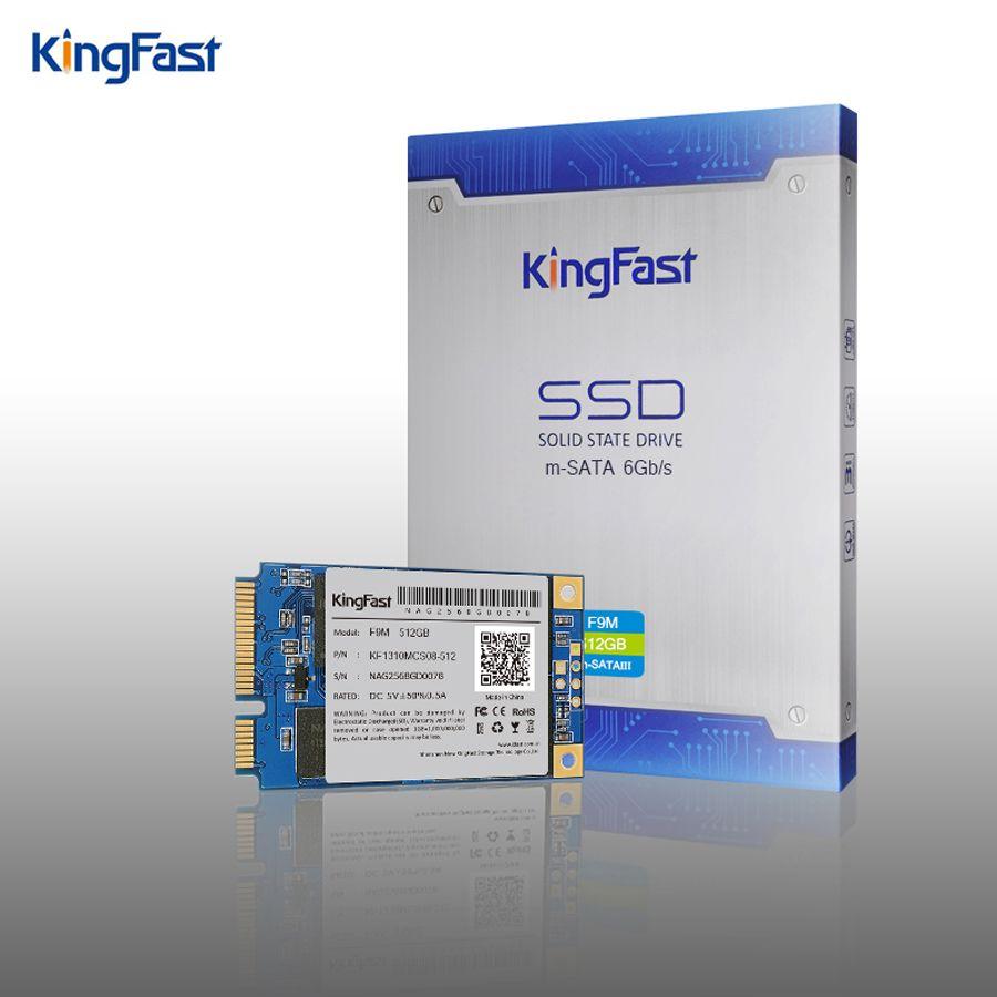 KingFast высокопроизводительный mSATA SATA3 MLC внутренний 120 ГБ 240 ГБ 512 ГБ SSD с Кэш твердотельный жесткий диск для настольных ПК/ноутбука