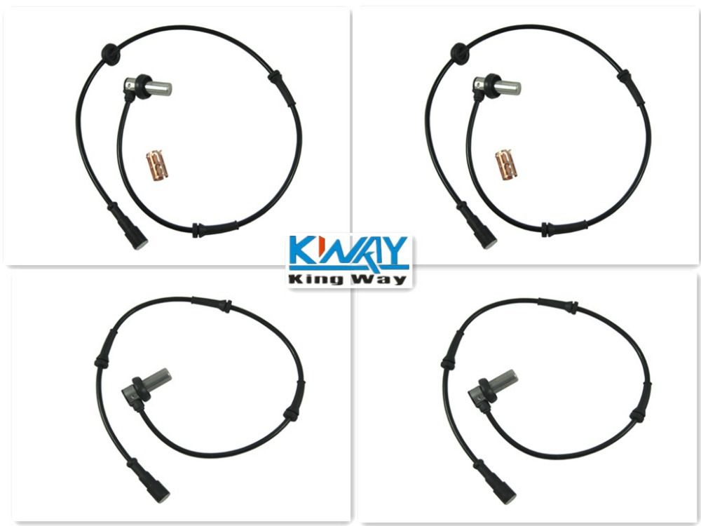 ABS WHEEL SPEED SENSOR FRONT REAR LEFT RIGHT FOR LANDROVER FREELANDER 1997-2000 NEW 4 PCS ONE SET