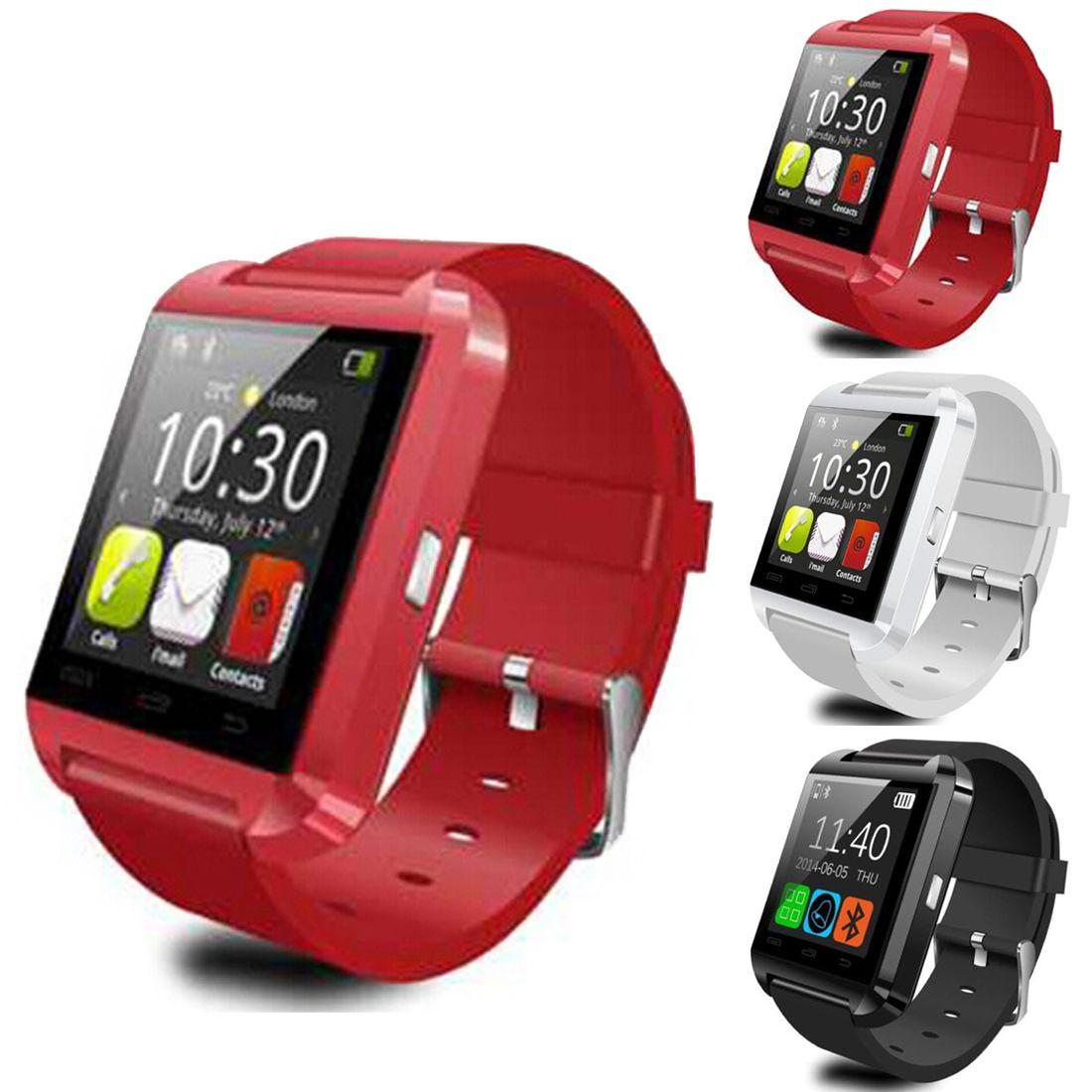 Meboyixi Bluetooth montre intelligente U8 Smartwatch U montre pour iOS iPhone Samsung Sony Huawei Xiaomi téléphones Android bon comme GT08 DZ09