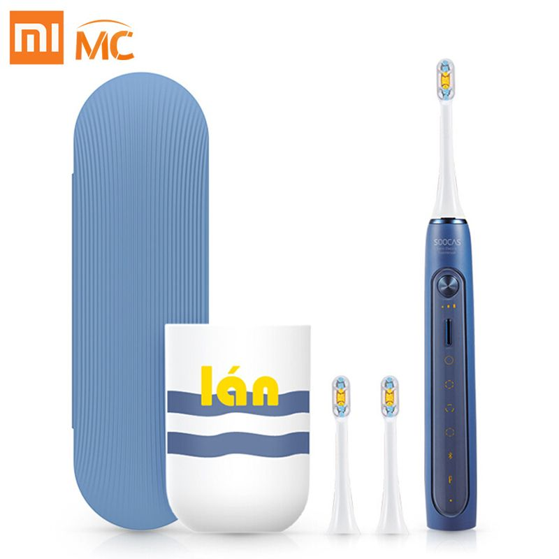 Xiaomi Mijia Sonic Electric Toothbrush Soocas X3 /X5 Upgraded Adult Waterproof Ultrasonic automatic Toothbrush USB Rechargeable
