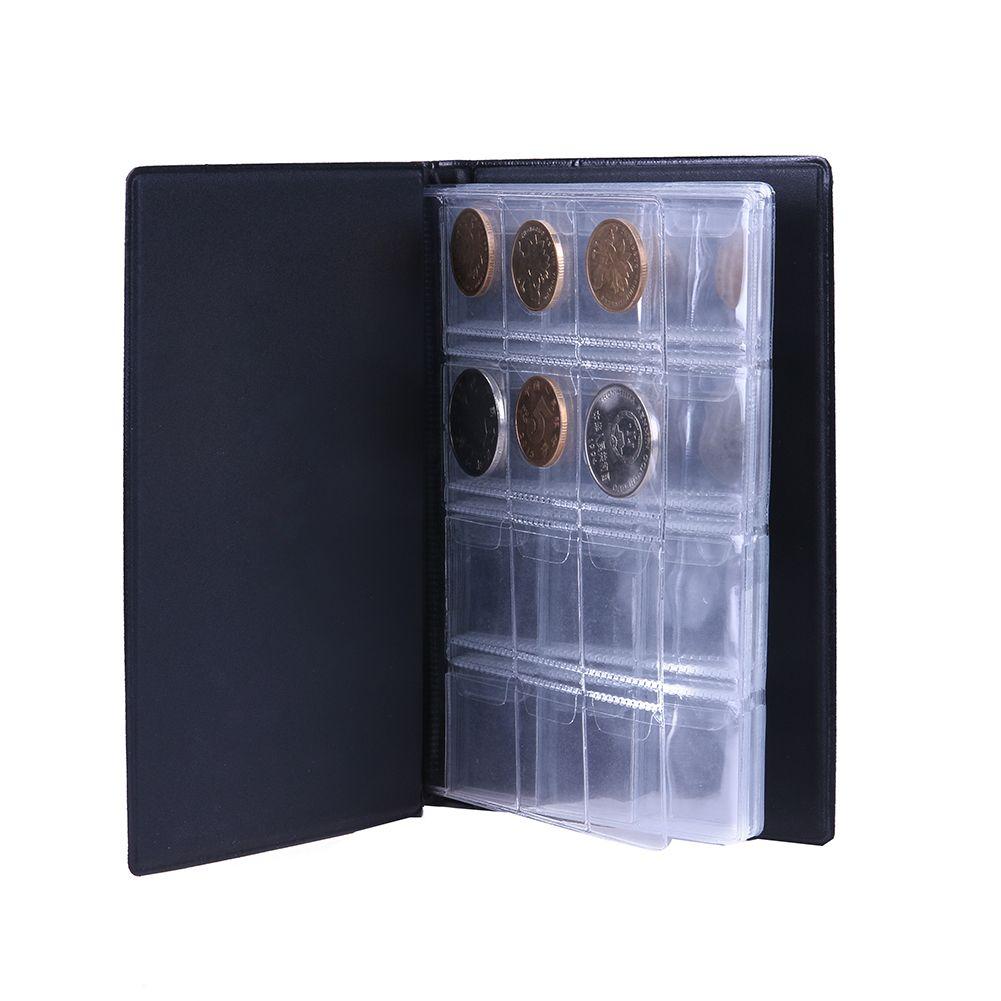 Russische Münze Album & Ordner 120 Münze Sammlung Halter Lagerung Penny Taschen Geld Album Buch Fall für Münzen Lagerung Sammeln