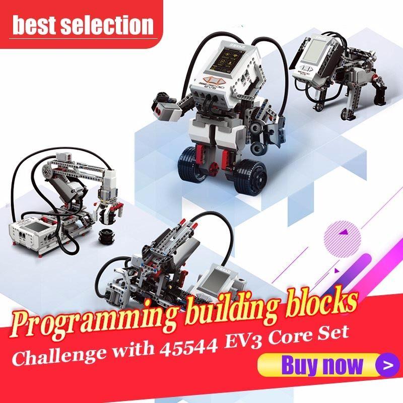 Programming building blocks technological accessories Education set STEAM 822pcs compatible with 45544 EV3 Core Set