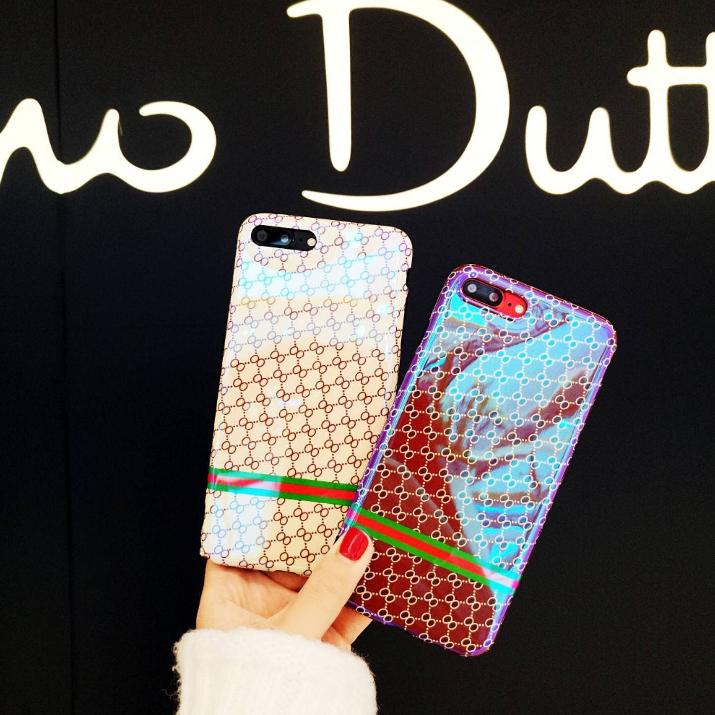 SZYHOME Phone Cases Für iPhone 6 6 s 7 Plus Vintage-Mode luxus Blu-ray TPU Silicon Für iPhone 8 Capa Coque