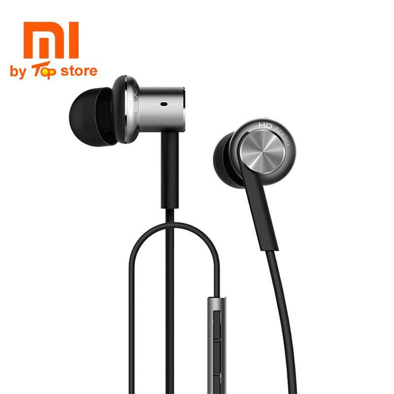 Original Xiaomi xiomi Mi Hybrid multi-unit Earphone with Mic Remote In-Ear piston 3 Headset earbuds for Mobile Phone dual core