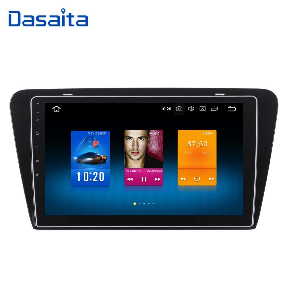 Android 8.0 Octo Core 1 din gps 32G +4G RAM Multimedia Player with 10.2