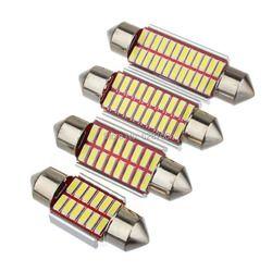 Высокое качество 31 мм 36 мм 39 мм 42 мм C5W c10w супер яркий 4014 smd автомобиля светодиодная гирлянда свет canbus ошибка Бесплатный Интерьер doom лампа