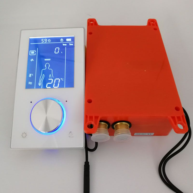 Smart Thermostat Dusche System Ventil LCD Display Dusche Panel Touch Screen Badezimmer Mixer Wasserhahn Wand Verborgen 2/3 Funktionen