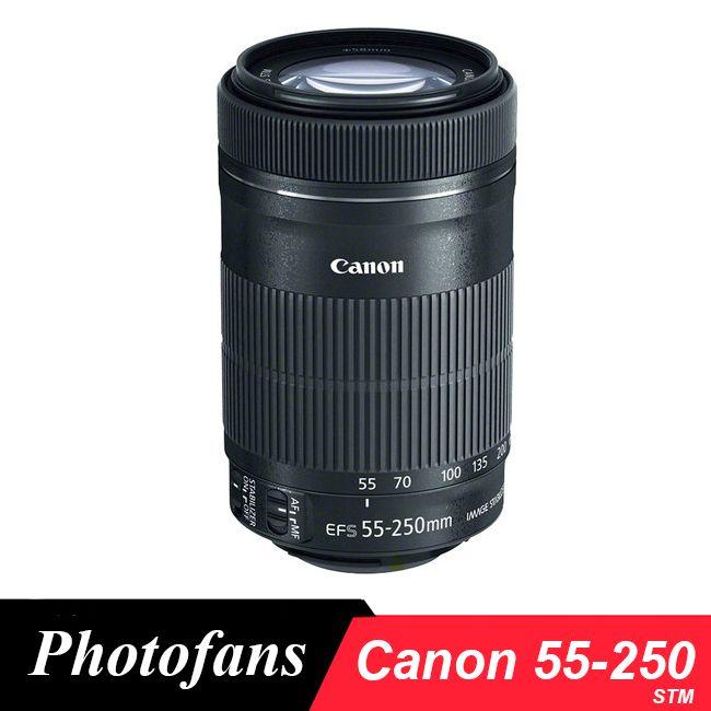 Canon 55-250 STM Lens Canon EF-S 55-250mm f/4-5.6 IS STM Lenses for 650D 700D 750D 760D 1200D 1300D T3i T6 T5i T5 60D 70D 80D
