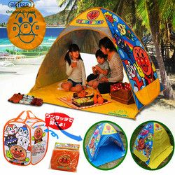 Akitoo 122 Tabir Surya pantai tenda anak luar bermain anak-anak kotak penyimpanan besar lipat crawler tikar kartun bayi hadiah