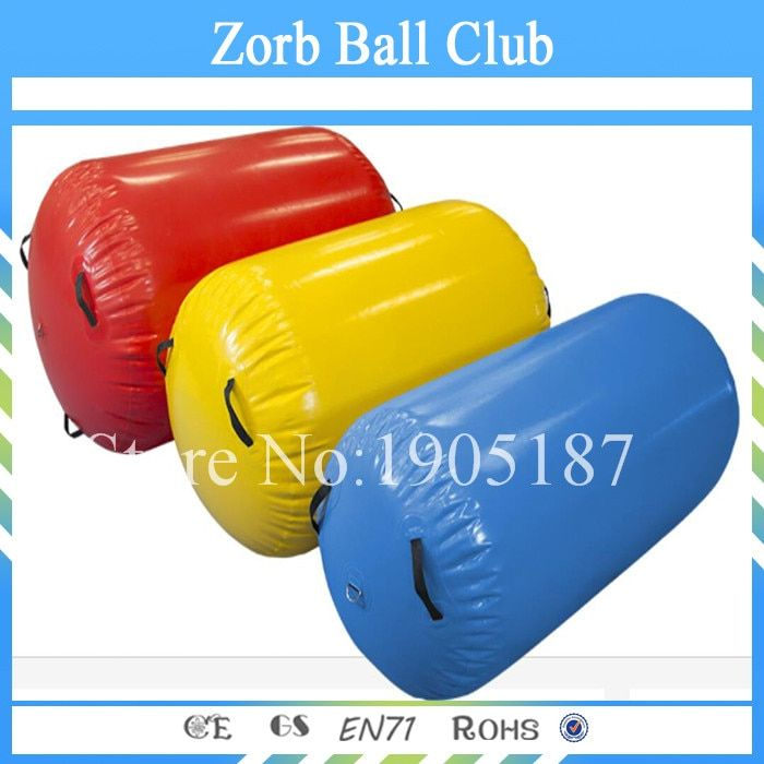 Free Shipping 70cm Dia Inflatable Air Roller, Inflatable Air Barrel, Air Tumble Roll For gym,Inflatable Gymnastics Air Barrel