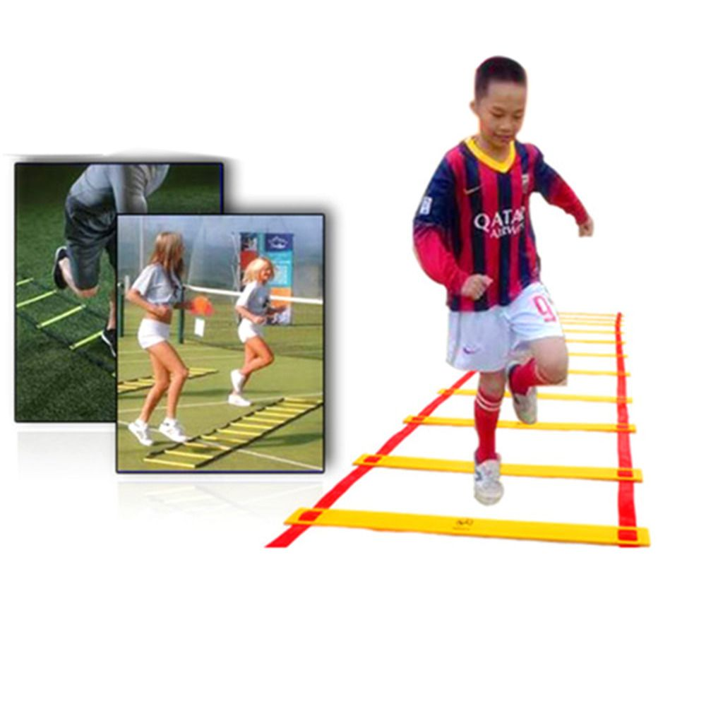 8-rung Agility Ladder for Soccer Speed Football Fitness Feet Training Durable free shipping