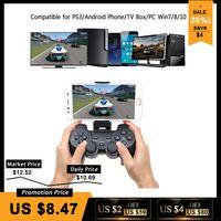 Inalámbrico Android Gamepad para teléfono Android/PC/PS3/caja de la TV Joystick 2,4g USB Joypad controlador de juego para Xiaomi teléfono inteligente