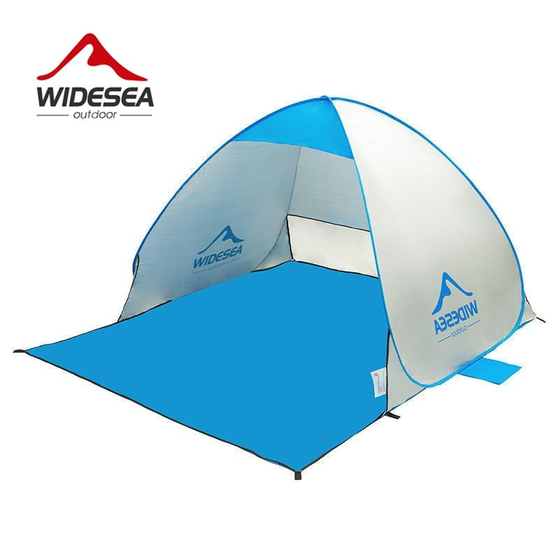 2017 new beach tent pop up open 1-2person sunshelter quick automatic 90% UV-protective awning tent for <font><b>camping</b></font> fishing sunshade