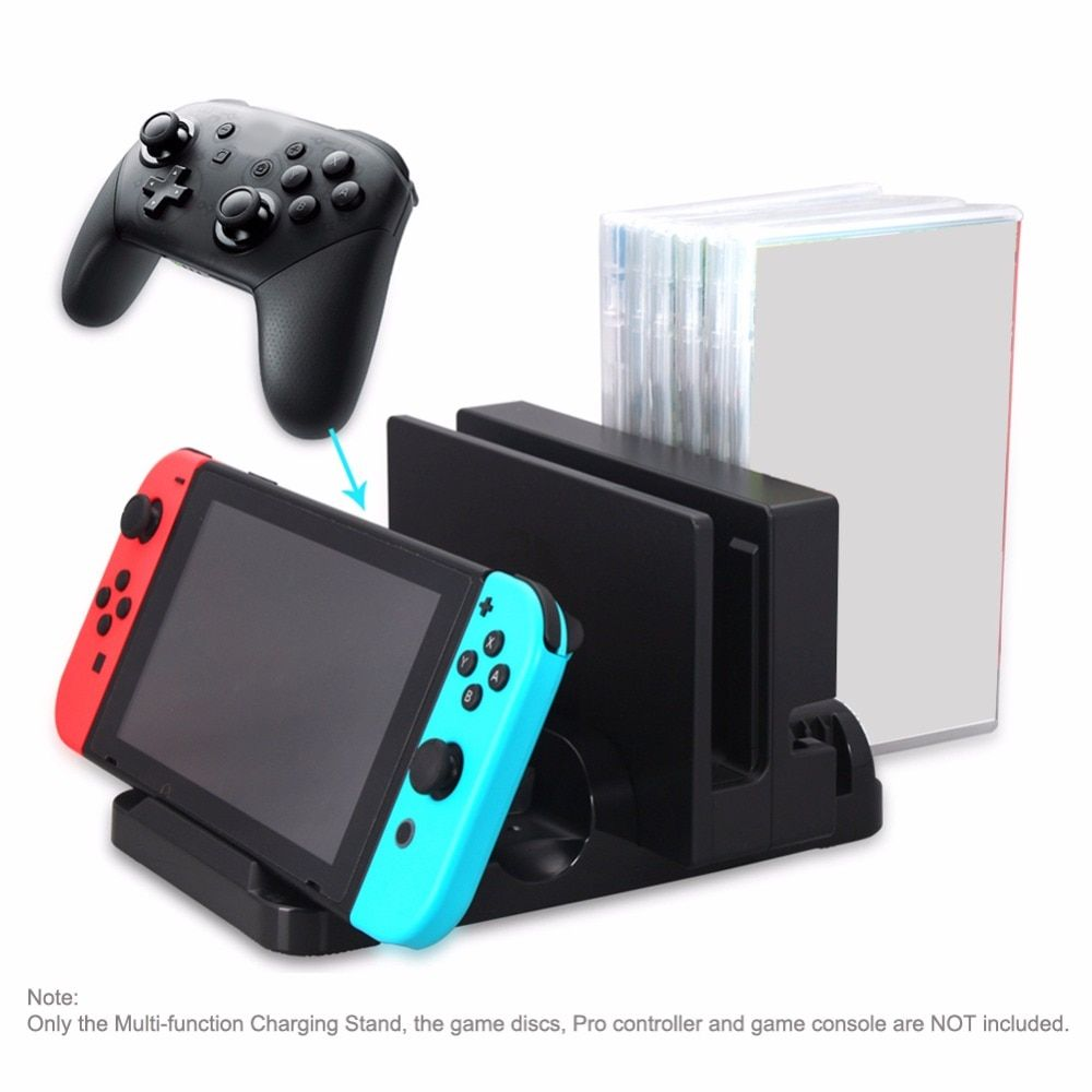Charging Stand Dock For Nintend Switch  N-Switch Consol Holder Match Type-c Power Supply For Game Player