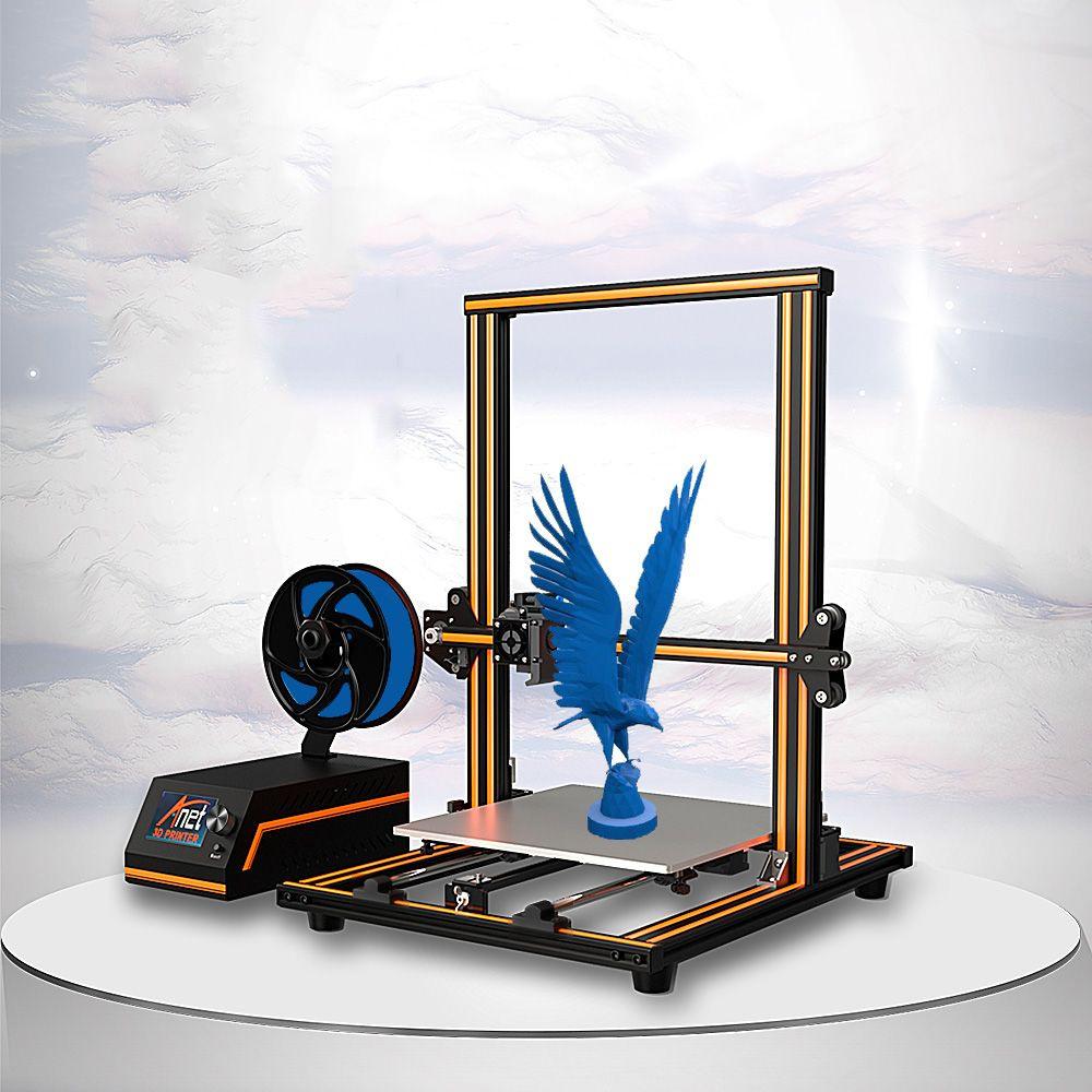 Anet E16 E12 E10 grande imprimante 3D haute précision double axe Y tiges de guidage Prusa I3 bureau imprimante 3D Impresora 3d avec Filament