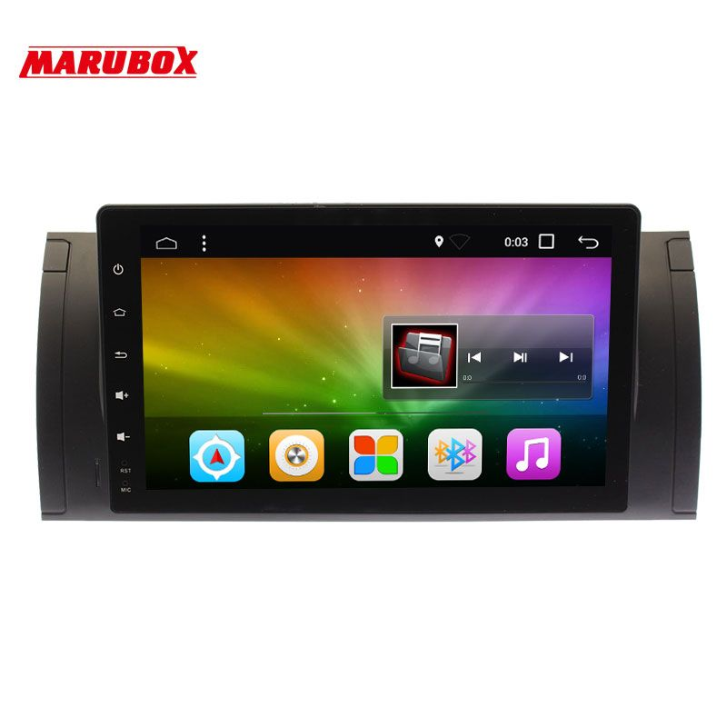 Marubox 9A901DT8 Car Multimedia for BMW E53 X5 00-06/E39 96-03 Android 8.1 2G RAM 32G ROM GPS Navi 9