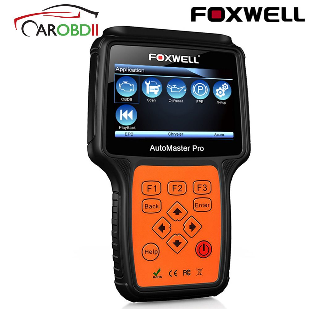 FOXWELL NT624 PRO Full System OBD2 Scanner OBD 2 Auto Diagnose Werkzeug ABS Airbag SRS SAS EPB Öl Reset ODB2 automotive Scanner