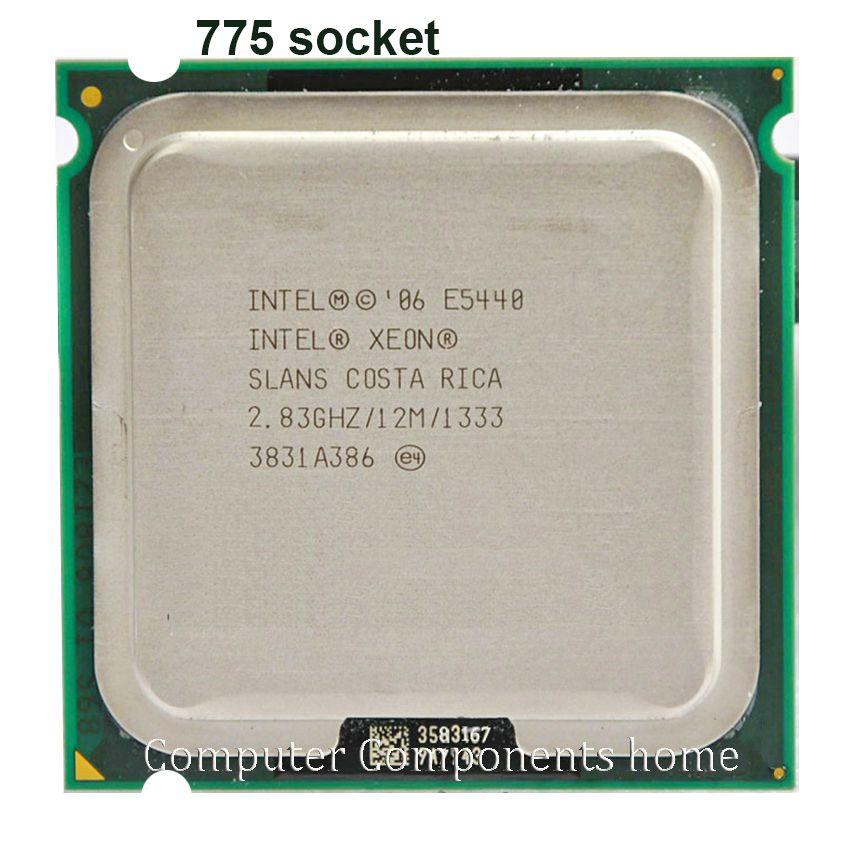 Intel Xeon E5440 Quad-Core Prozessor in der nähe LGA775 CPU, funktioniert auf LGA 775 mainboard