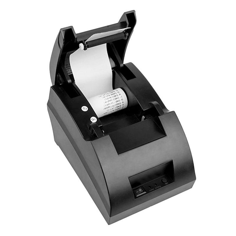 Freies verschiffen Neue mini 58mm Thermobondrucker Ticket POS 5890C etikettendrucker Usb-anschluss Schnittstelle Positions-drucker