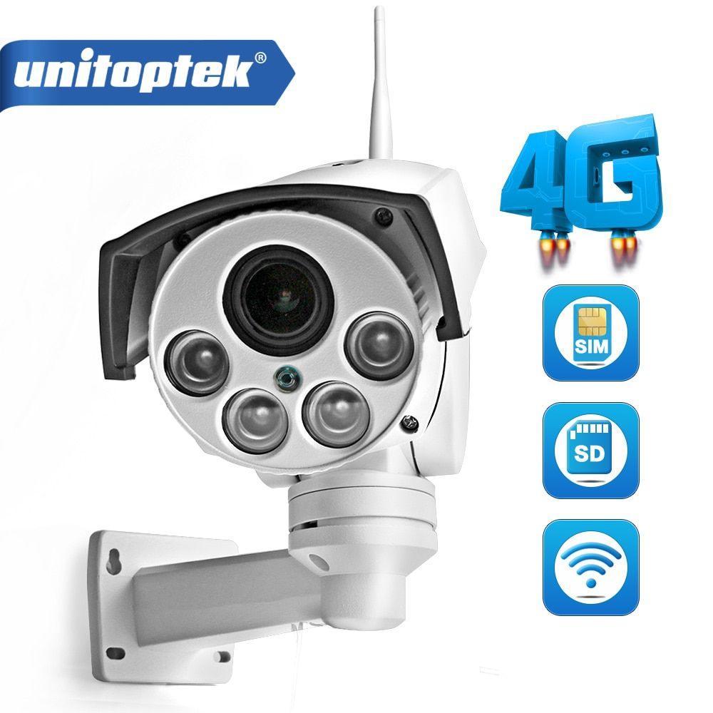 1080P 960P 3G 4G SIM Card Camera Wifi Outdoor PTZ HD Bullet Camera Wireless IR 50M 5X Zoom Auto Focus 3516C+SONY323 IP Camera