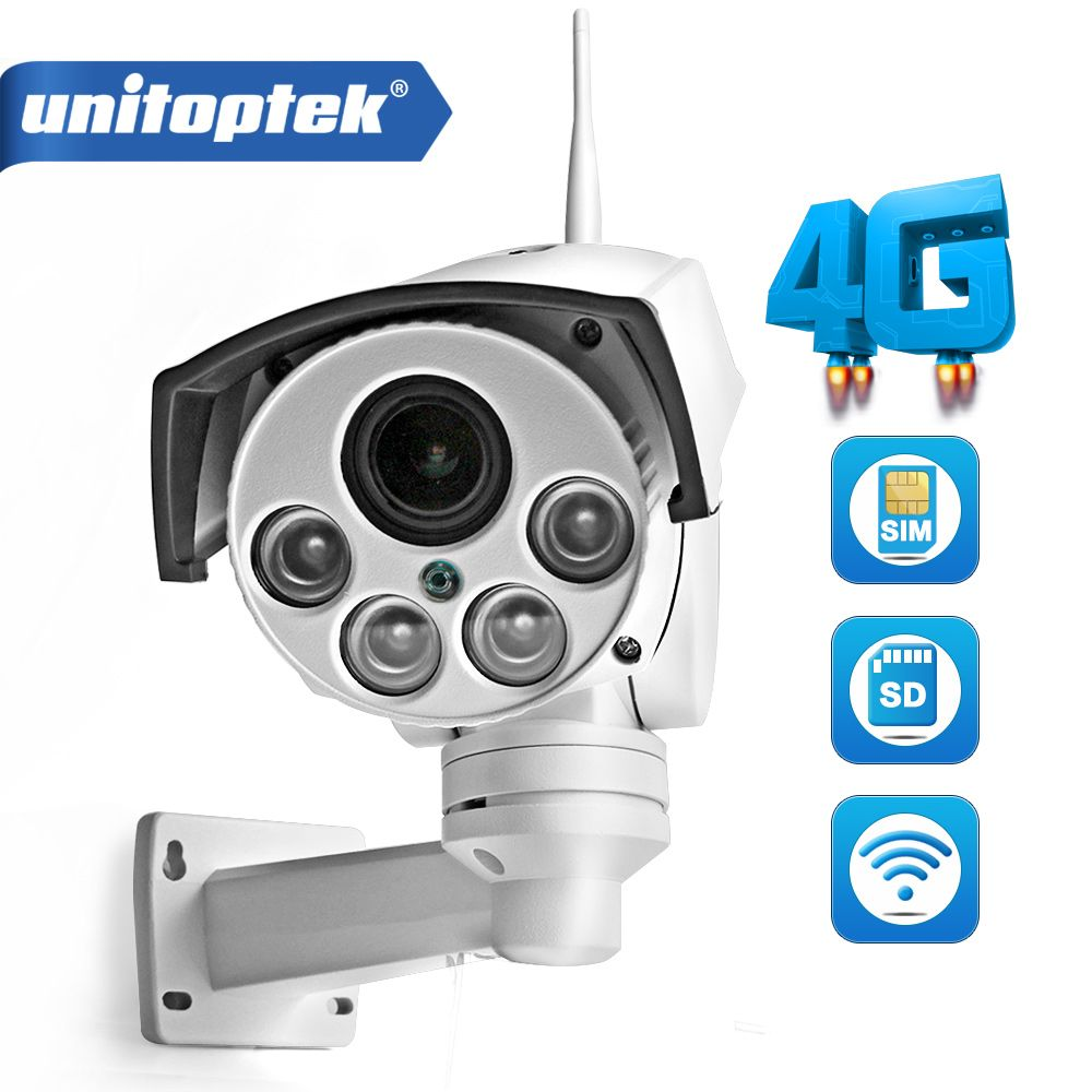 1080P 960P 3G 4G SIM Card Camera Wifi Outdoor PTZ HD Bullet Camera Wireless IR 50M 5X Zoom Auto Focus 3516C+SONY323 IP Camera