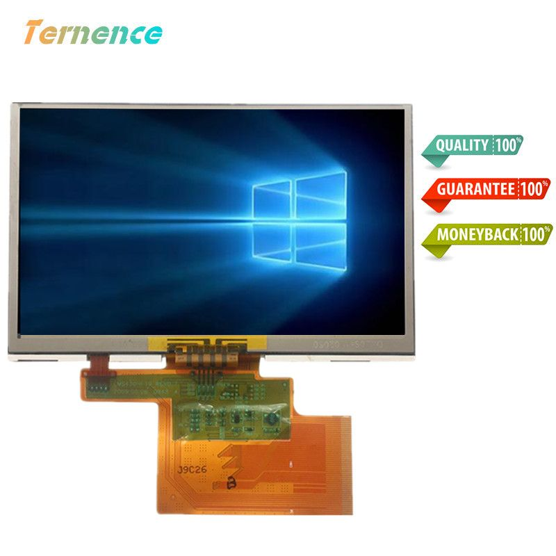 skylarpu 4.3' inch complete LCD LMS430HF19 LCD screen + touch panel for tomtom XL N14644 GPS LCD display Screen Free shipping