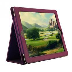 1 шт. с бугристой поверхностью защитный кожаный волокнистая подкладка чехол для iPad 2/3/4 защитный чехол с функцией умного сна Wake Up Функция
