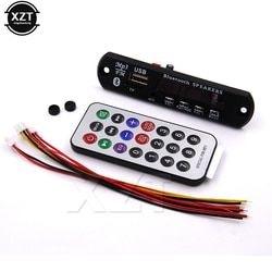 1 Buah 12 V Nirkabel Bluetooth MP3 WMA Decoder Papan Audio Mobil USB TF FM Radio Modul Hot Sale