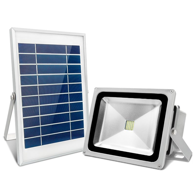 30W/50W Solar Light LED Spotlight Multi-purpose Split Outdoor Floodlighting Intelligent Garden Lawn Lamp Waterproof IP65