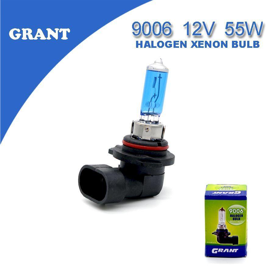 Grant 2 шт. HB4 9006 12 В 55 Вт Галогенные ксеноновые лампы 6000 К чистый белый Освещение Авто Лампы для мотоциклов надежный качество большая акция