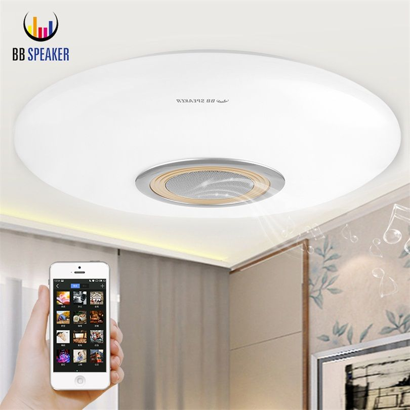 LED Ceiling Lights Dimmable For living Room Ceiling Lamp RGB Modern 220V With APP Remote Control Smart Bluetooth Music