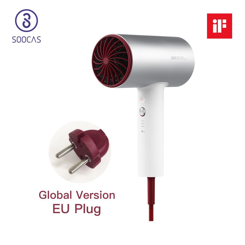 Soocas H3 professional hair dryer electric hair dryer blow dryer powerful hair dryer xiaomi