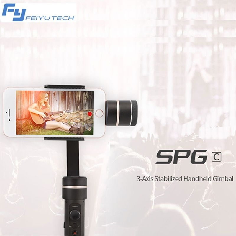 FeiyuTech FY SPG C 3-Axis Handheld Gimbal for Smartphone Stabilizer for Iphone for HUAWEI Xiaomi selfie stick VS Zhiyun Smooth Q