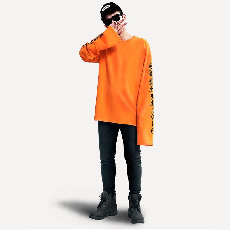 plus size oversize hoodie woman and man 2017 EXO and Bigbang same super long sleeve loose <font><b>couple</b></font> harajuku hedging hoodies BTS