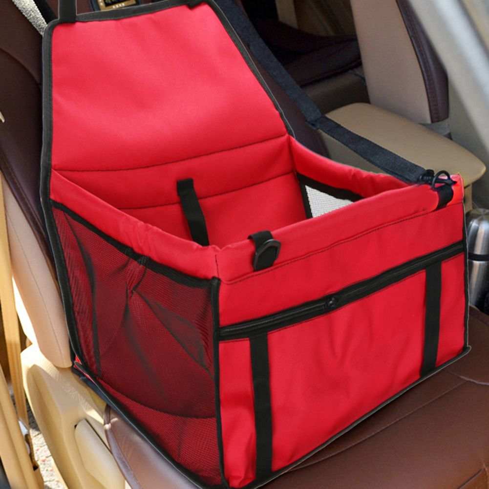 Pet Dog <font><b>Carrier</b></font> Car Seat Pad Safe Carry House Cat Puppy Bag Car Travel Accessories Waterproof Dog Seat Bag Basket Pet Products