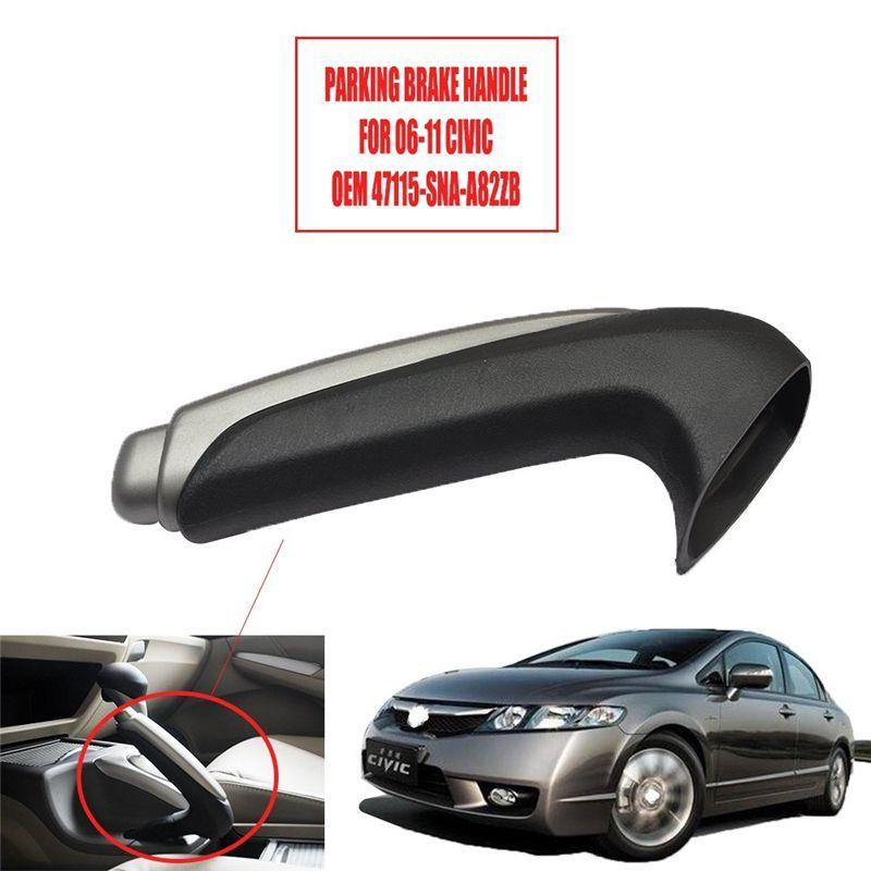 car styling 47115-SNA-A82ZB 47115SNAA82ZB A82ZB 47115-SNA-A82ZA 47115SNAA82ZA Emergency Parking Brake Handle for civic 06-11