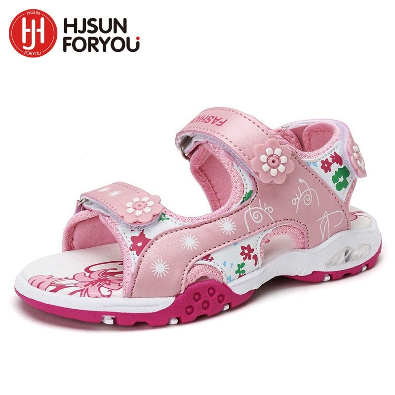 2018 Summer Children beach sandals fashion shoes for girls casual princess shoes baby footwear kids non-slip sandalias